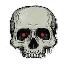 Magnetic Bumper Sticker - Skull Magnet - Great For Halloween
