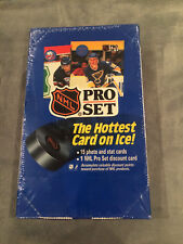 ( 4 ) 1990 NHL Pro Set Hockey wax boxes Low Series 1 BUY IT NOW