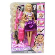 Barbie DWK49 Crimp & Curl Fashion, Beauty & Hairstyle Girls Doll