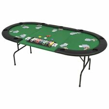 vidaXL 9-Player Folding Poker Table - 80210