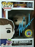Funko POP#3! Jeff Dunham and peanut exclusive limited *Autographed* (Blue)NIB🗣️