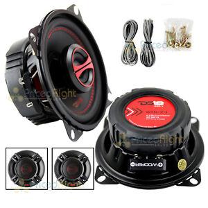 "DS18 GEN-X4 4"" 2-Way Coaxial Speakers 120 Watts Max Power 4 ohm GEN Series"