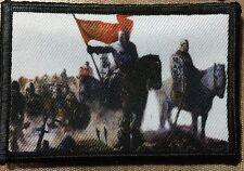 Crusader Knights Morale Patch Crusades Tactical Military USA Hook Badge Army
