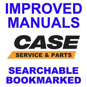 CASE 580CK Tractor SERVICE Manual & PARTS & OPERATORS -4- MANUALS - 1966-1971 CD