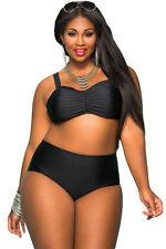 Costume Da Bagno Bikini Vita alta Taglie forti Grandi Curvy Plus Ov Size XXXL