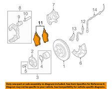 AUDI OEM 04-06 TT Quattro Brake-Front Pads 8N0698151D