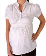 ALMOST MUM Maternity Blouse Striped - BRAND NEW