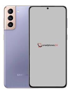 "Samsung Galaxy S21 Plus 5G 128GB Phantom Violett 6,7"" S21+ SM-G996B/DS NEU"