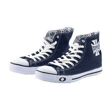 SCARPE BY WEST COAST CHOPPERS WARRIORS(NAVY/WHITE) HI-TOP SIZE EU (TG 37) UNISEX
