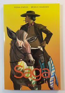 Saga Volume 8 TPB Soft Cover Graphic Novel Brian K. Vaughn First Print NM Image