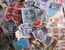 500 STAMPS LOT-  Mixed British India KG VI / V (King George ) Stamp on Paper