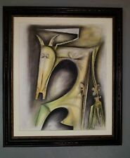 WIFREDO LAM / MIXED MEDIA ON PAPER