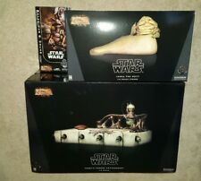 Star Wars Sideshow Collectibles Excl. 1/6 Jabba The Hutt Throne Salacious Crumb!