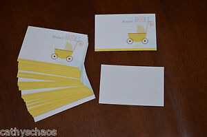100 Enclosure Cards Gift Tags Themed Baby Shower Supplies This is how I roll