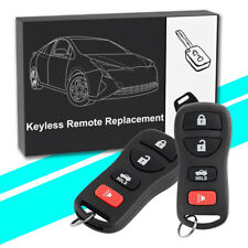 2 Keyless Entry Remote Key Fob for 2002 2003 2004 2005 2006 Nissan Maxima Altima