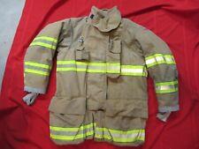 MFG. 2010 GLOBE GXTREME 44 x 35 Firefighter Turnout Bunker JACKET FIRE RESCUE