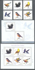 Jersey-Birds-Birdlife Links with China 2018 set-Souv sheet & Min sheet
