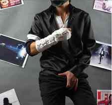 Michael Jackson Black or White Shirt + White Armbrace