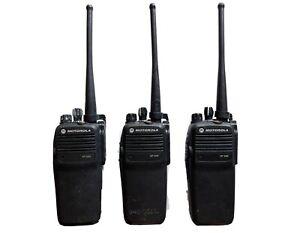 Motorola DP3400 UHF Radios X3