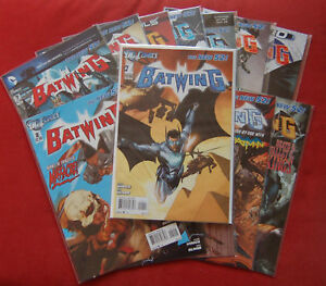 Batwing - Issues 0 1 2 3 4 5 5 6 7 8 9 10 11 12 - FIRST PRINTS - DC The New 52