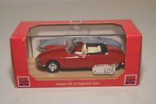 @. 1:43 RIO 98 CITROEN DS 19 CABRIOLET 1961 RED MINT BOXED