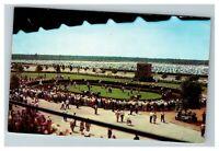 Atlantic City NJ Race Course, Paddock Walking Ring c1966 Postcard L6