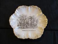 Circa 1910 Souvenir Porcelain Dish Armory National Guard Utica New York *