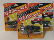 3 PACKS OF 2  DEER WHISTLES / WILDLIFE WARNING DEVICES/Brand New FREE SHIPPING!