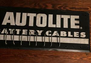 Vintage Autolite sign/rack