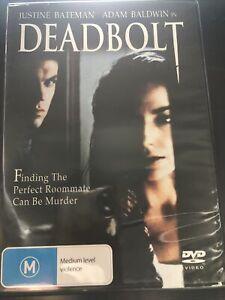 DEADBOLT DVD Justine Bateman, Adam Baldwin Region 4