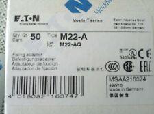 M22-A Fixing Adapter, Front Fixing EATON KLOCKNER MOELLER 22MM RMQ-TITAN