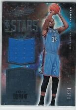 KEVIN DURANT 2015-16 PANINI ABSOLUTE STARS GAME USED JERSEY#/99