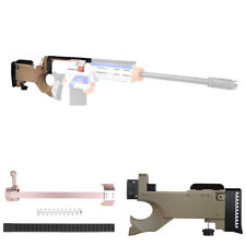 Worker MOD F10555 AWP Sniper Bolt Action ButtStock Set for Nerf Retaliator Toy