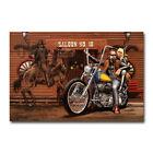 Ghost Rider David Mann Motorcycle Art Silk Poster Canvas Print