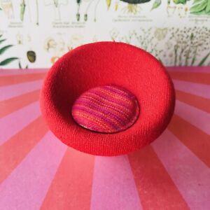 RARE Lundby 'Pop' chair - vintage dollshouse mini 1:16 scale