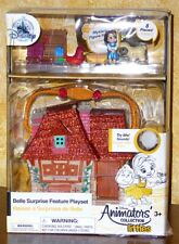 NEW MICRO DISNEY ANIMATORS' PLAYSET LITTLE'S ~ BELLE'S HOUSE ~ LIGHTS & SOUNDS
