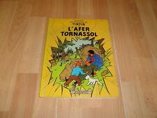 L'AFER TORNASSOL LES AVENTURES DE TINTIN HERGE 9ª EDICIO DEL ANY 1989 EN CATALA