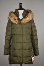 THE NORTH FACE NEW $299 Dealio Faux Fur Trim Down Parka New Taupe Green Medium