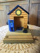 Pre Owned Wooden Little Gas Station For The Thomas Train System