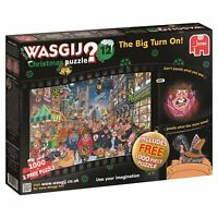 Wasgij 1000 Piece Mystery Jigsaw Puzzle The Big Turn On Christmas Number 12