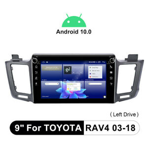 For 2013-2018 Toyota RAV4 Android 10.0 Stereo Replacement CarPlay & Android Auto