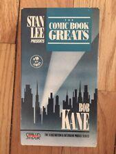 Stan Lee Presents : Comic Book Greats 1992 - Bob Kane interview.