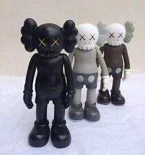 Conjunto de 3 figuras de réplica de 8' KAWS compañero Original falso Medicom juguetes