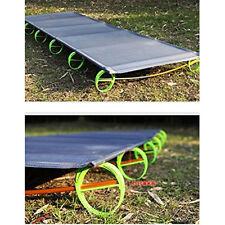 Outdoor Super Ultralight& Portable Folding Aluminium alloy Cot Camping Tent Bed