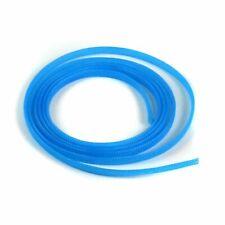 "3/8"" Neon Blue Engine & Harness Wire Loom - 10 Feet truck rod rat street stereo"