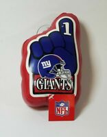NFL New York Giants Foam Finger Window Suction Cup Hanger