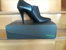 MISS SIXTY - LADIES LEATHER SHOE BOOT IN BLACK [ WAS £105]