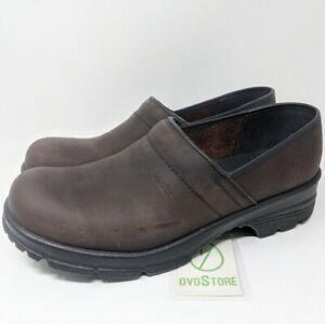Sanita Signature Dalton Oil leather Closed Clog