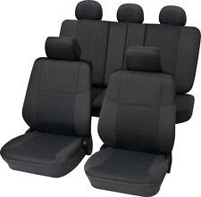 Universal Sitzbezüge Dunkelgrau für Daihatsu Cuore Schonbezüge Set Bezug Auto