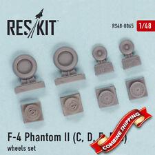 ResKit 48-0065 F-4 Phantom II (C, D, E, F) wheels set (resin wheels) 1/48